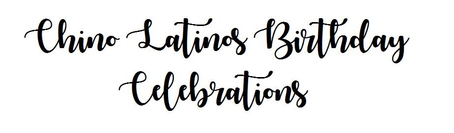 Chino latinos event