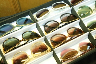 A selection of film-star worth sunglasses