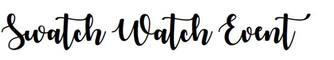 swatch event